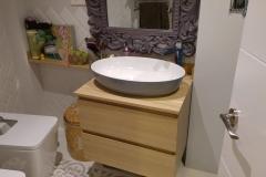 muebe de baño moderno