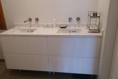 mueble baño doble