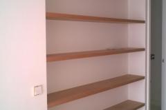 Panelado estanterias