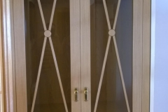 Doble puerta abatible clasica