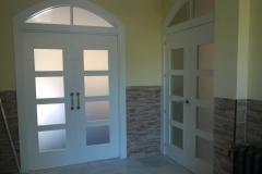 Puertas diseños blancas