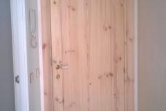 puerta abatible madera
