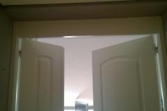 puerta doble lacado blanco